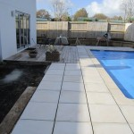 Paving by Slatecrete and Pool by Finishrite