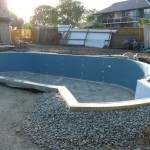 DIY Finishrite swimming pools