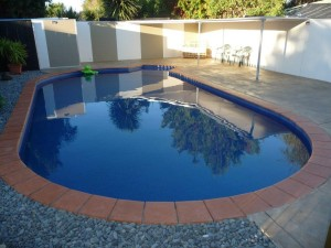 DIY Finishrite swimming pool